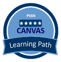 PSSN Canvas Learning Path Badge